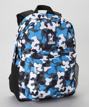 Blue Camo Tagalong Backpack