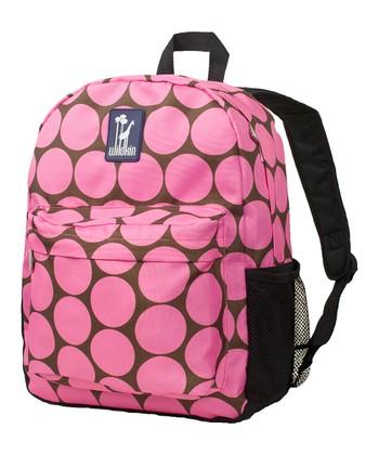 Pink Big Dot Crackerjack Backpack