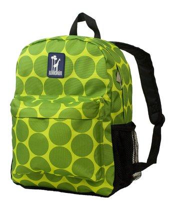Green Big Dot Crackerjack Backpack