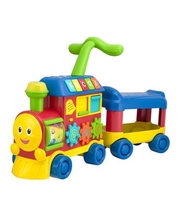 Learning Train Walker & Ride-On