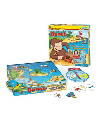 Wonder Forge Curious George Discovery Beach Game
