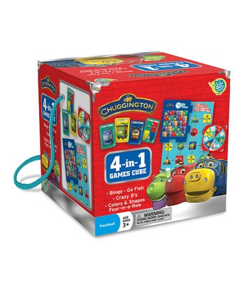 Chuggington Travel Cube Game Set