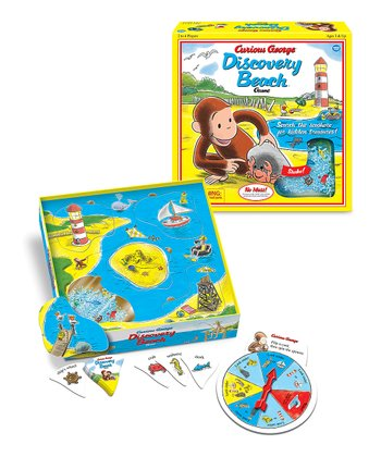 Curious George Discovery Beach Game