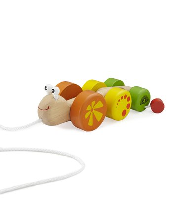 Wonder Snail Pull Toy