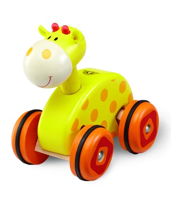 Wheely Giraffe Toy