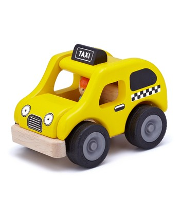 Yellow Cab Toy