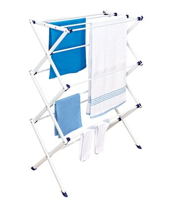 White Folding Drying Rack