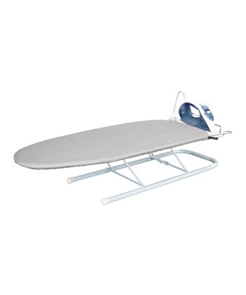 Silver Tabletop Retractable Iron Rest Ironing Board