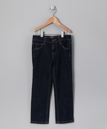 Blue Straight-Leg Jeans - Toddler & Boys