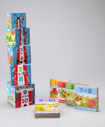 Early Learning Blocks & Books: Numbers One to 10