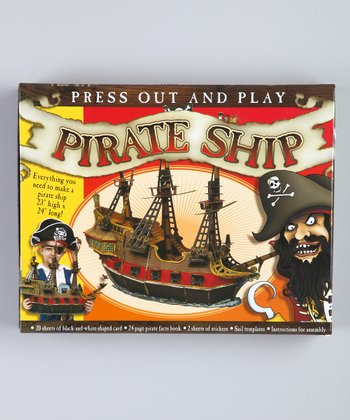 Press Out and Play Pirate Ship Assembly Set
