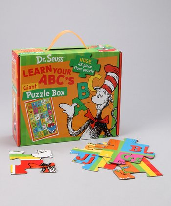Dr. Seuss' Learn Your ABC's Giant Floor Puzzle