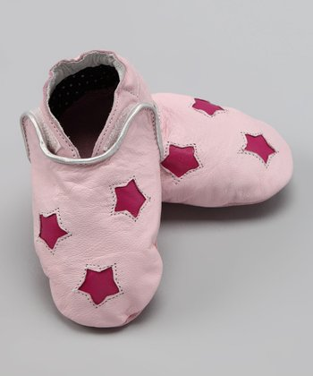 Wuggie Bear Pink Star Booties