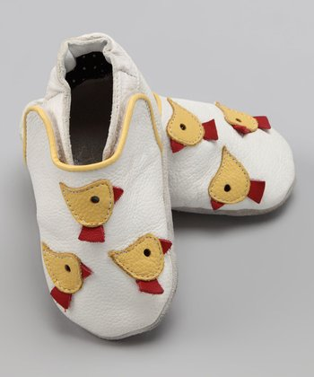 Wuggie Bear White Chick Booties