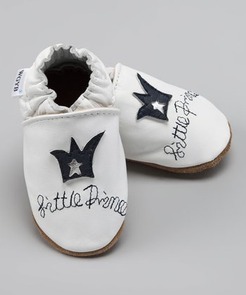 White 'Little Prince' Bootie
