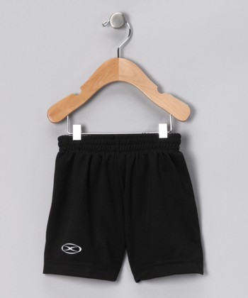 Black League Shorts - Kids