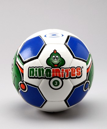 Royal Blue 'Dinomite II' Soccer Ball
