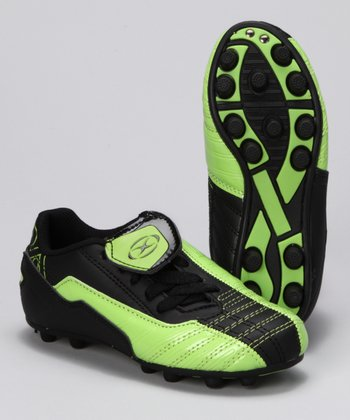 Green & Black Futura Cleat