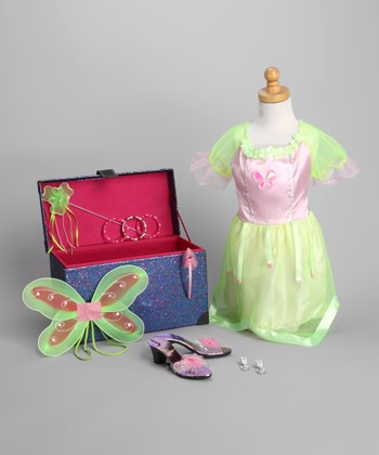 Purple Fairy Princess Trunk Set