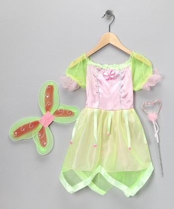 Green Fairy Dress-Up Set - Kids