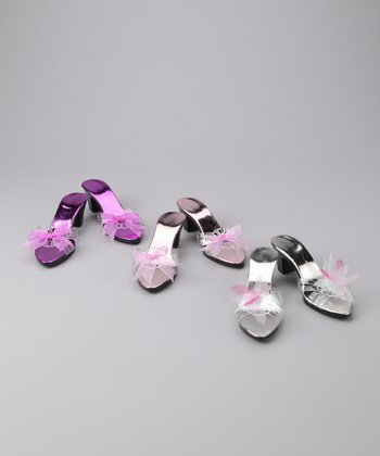 Purple Dress-Up Shoe Set