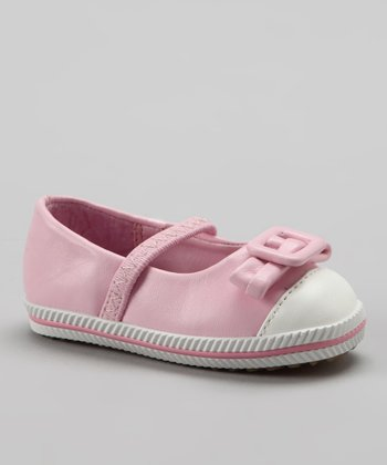 Xeyes Pink Buckle Bow Flat