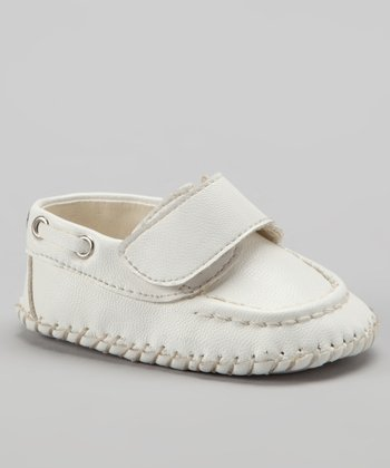 White Strap Loafer