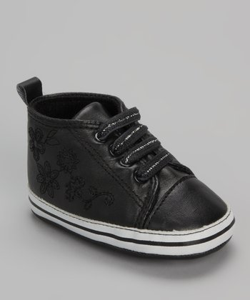 Xeyes Black Flower Sneaker
