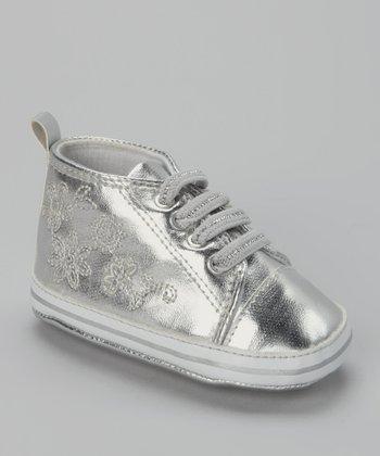 Xeyes Silver Flower Sneaker