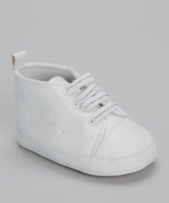Xeyes White Flower Sneaker