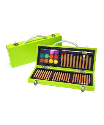 Lime Green Junior Gallery Art Set