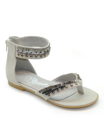 Ice Embellished Gladiator Sandal