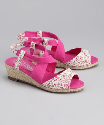 Fuchsia Wedge
