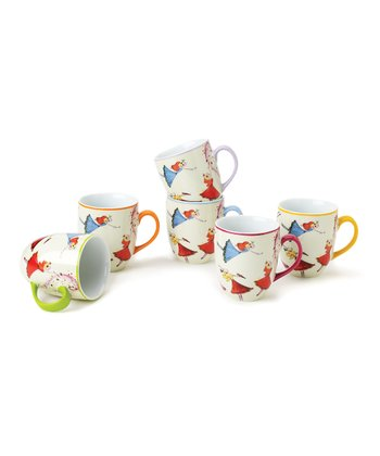 Dancing Fairies Mug Set
