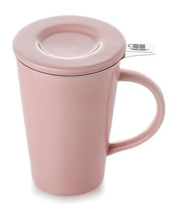 Pink Friendly Tea Mug