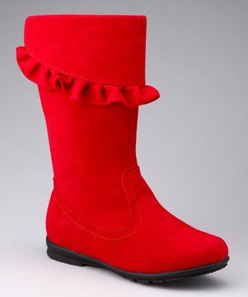 Red Hershey Boot