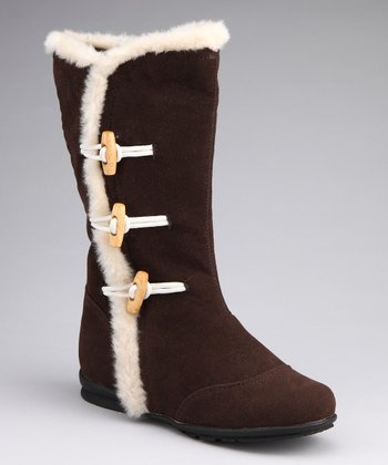 Brown Toggle Hershey Boot