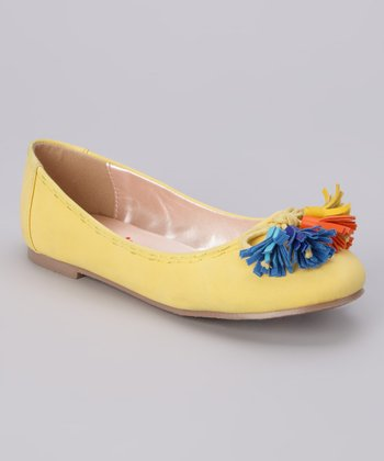Yellow Dianne-K Flat