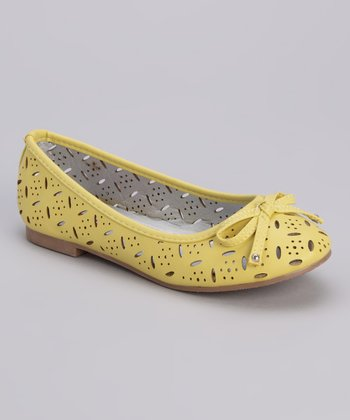 Yellow Therese-K Flat