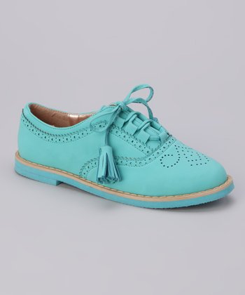 Teal Roxanne-52k Oxford