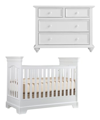 Cotton Tribute Crib & Single Dresser