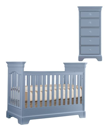 Lilac Tribute Crib & Narrow Chest