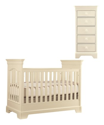 Crème Tribute Crib & Narrow Chest