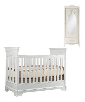 Starlight Tribute Crib & Wardrobe