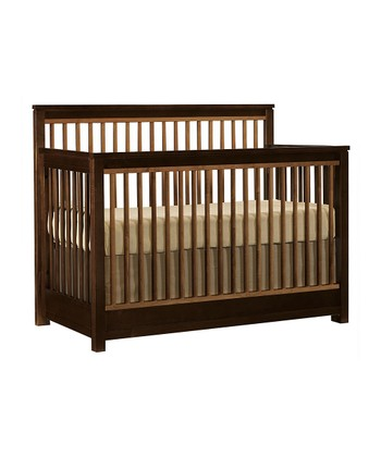Espresso Encore Built to Grow Crib