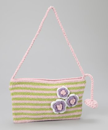 Green Pastel Dots Purse
