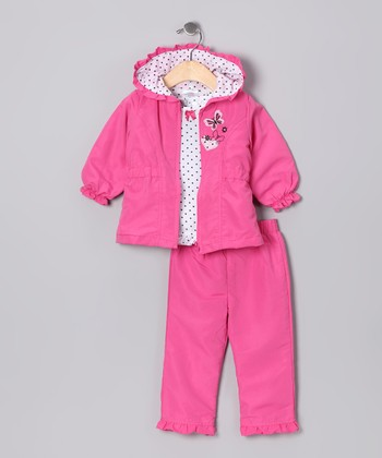 Pink Jacket Set - Infant & Toddler