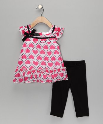 Pink Swing Top & Leggings - Toddler