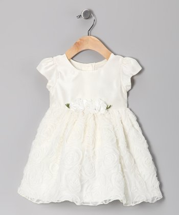 White Petal Dress - Infant