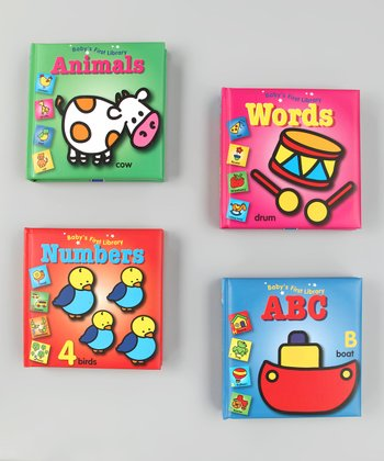 Baby's First Library Board Book Set 3